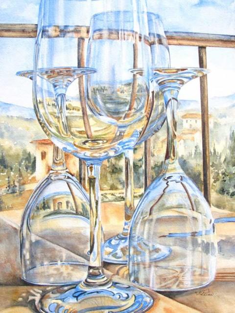 Table for Four, San Gimignano